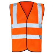 Hi-Vis Full Spec Waist Coat - Orange